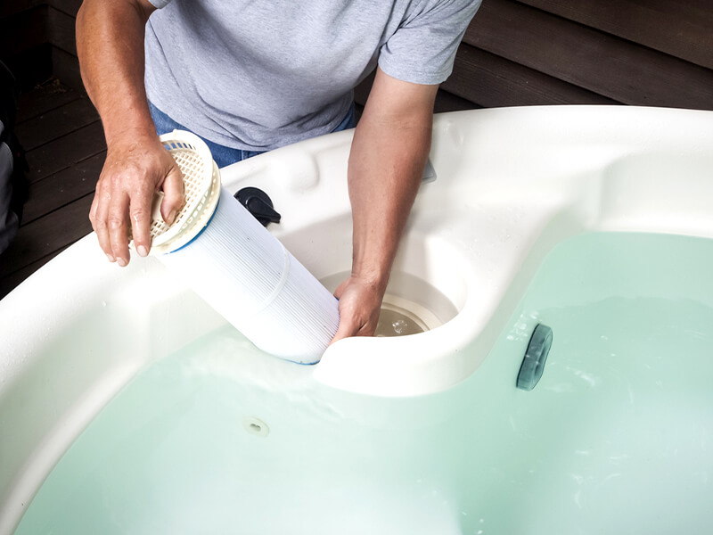 How to Clean Your Spa Filters